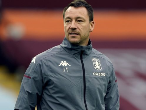 Aston Villa assistant John Terry has been backed for the vacant Bournemouth job by Harry Redknapp (Tim Keeton/PA)