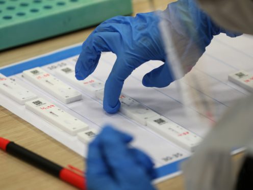 Asymptomatic testing will be carried out in Glasgow (Andrew Milligan/PA)