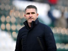 Ryan Lowe was not impressed by the playing surface (Simon Galloway/PA)