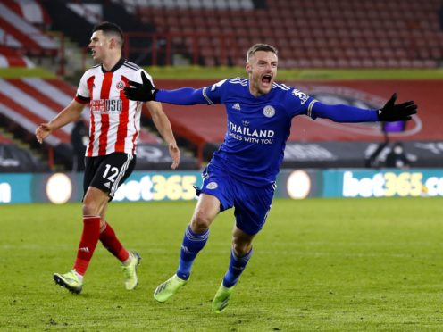 Leicester miss Jamie Vardy when he is unable to play and boss Brendan Rodgers wants a suitable back-up striker (Jason Cairnduff/PA)