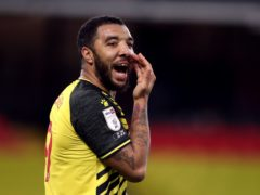 Watford's Troy Deeney faces a spell on the sidelines with an Achilles injury (Nick Potts/PA)