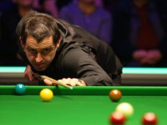 Ronnie O'Sullivan edged past Ding Junhui at the Players' Championship (Nigel French/PA)