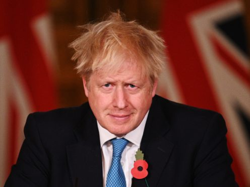 A trainee hairdresser offered to cut Boris Johnson's hair (Leon Neal/PA)