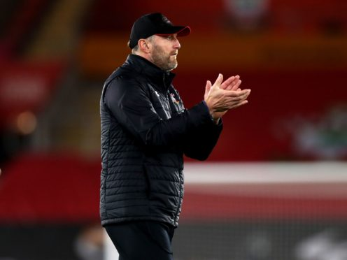 Southampton manager Ralph Hasenhuttl had taken his team to the top of the Premier League during November 2020 (Naomi Baker/PA)