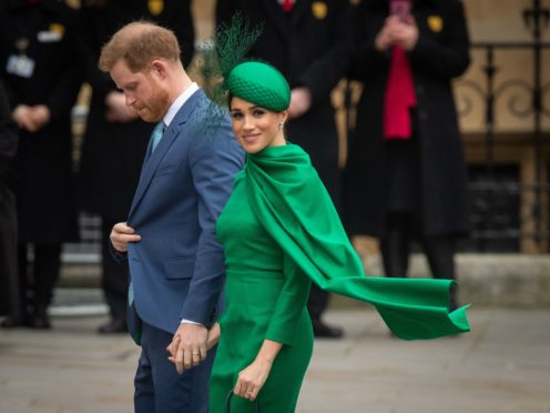 The conclusion to Megxit (Dominic Lipinski/PA)