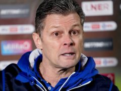 Steve Cotterill has left hospital after extended treatment for his Covid-19 illness (Zac Goodwin/PA)
