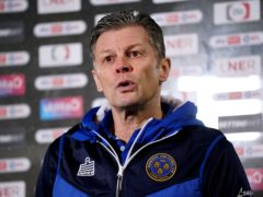 Steve Cotterill continues to make his presence felt despite his absence from the team (Zac Goodwin/PA)