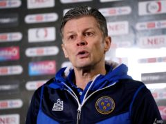 Steve Cotterill is still recovering in hospital after contracting coronavirus (Zac Goodwin/PA)