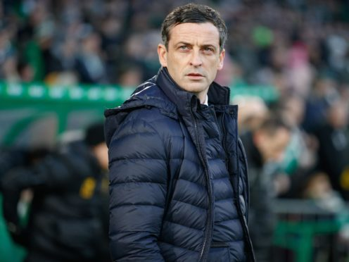 Jack Ross' side face Motherwell on Saturday (Steve Welsh/PA)