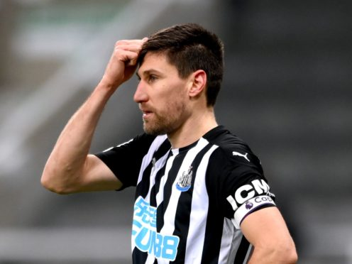 Newcastle defender Federico Fernandez as returned to training after a thigh injury (Stu Forster/PA)