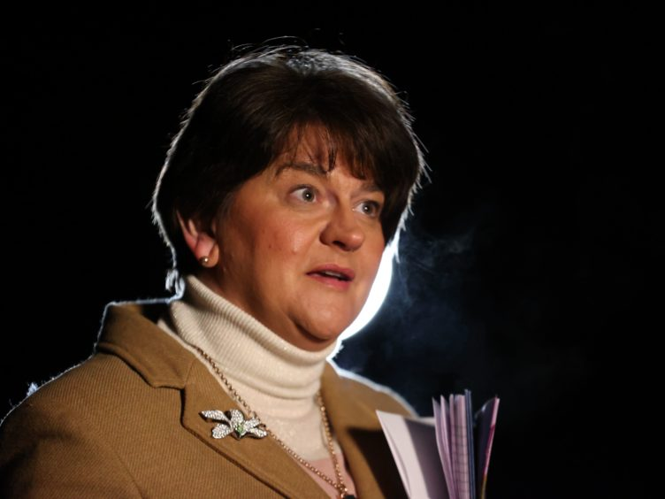 First Minister Arlene Foster has said the Northern Ireland Protocol 'cannot work' (Liam McBurney/PA)