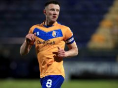 Ollie Clarke could return for Mansfield against Bolton (Mike Egerton/PA)