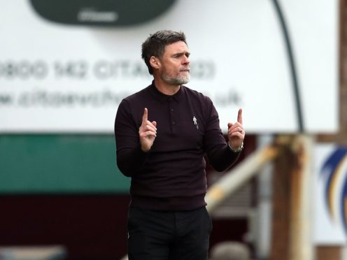 Motherwell manager Graham Alexander has questioned communication from authorities (Andrew Milligan/PA)