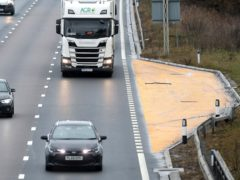 A coroner investigating the death of a woman on a smart motorway has referred Highways England to the Crown Prosecution Service to consider if manslaughter charges are appropriate (Martin Rickett/PA)