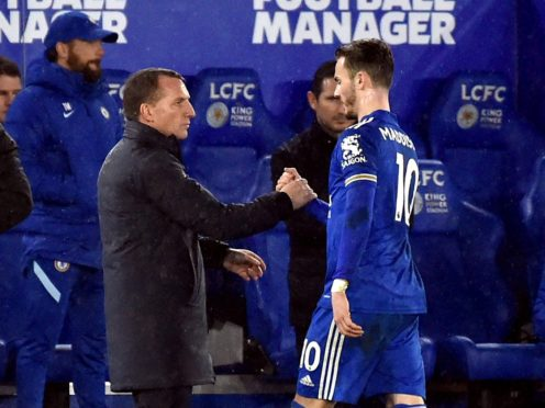 Leicester manager Brendan Rodgers hailed the quality of James Maddison against Fulham (Rui Vieira/PA)