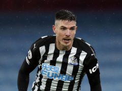 Ciaran Clark could miss Newcastle's Premier League fixture against Southampton (Clive Brunskill/PA)