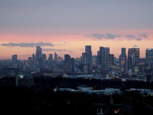 Shares fell heavily in London on Friday (Jonathan Brady/PA)