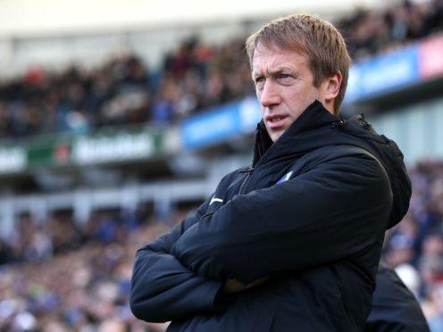 Graham Potter believes Roy Hodgson has done an amazing job at Palace (Gareth Fuller/PA)