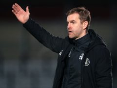 Harrogate boss Simon Weaver could be tempted to make changes (Mike Egerton/PA)