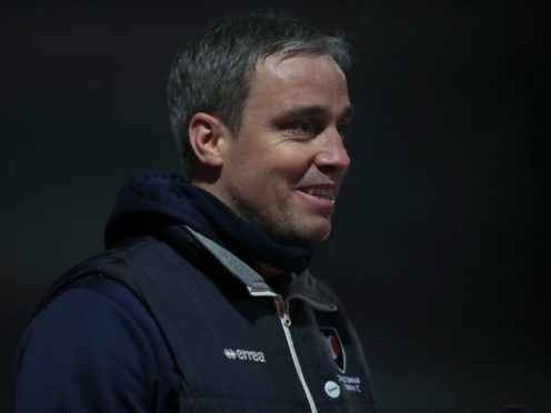 Cheltenham manager Michael Duff has injury problems ahead of the trip to Scunthorpe (Nick Potts/PA)