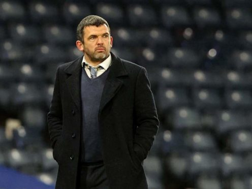 St Johnstone manager Callum Davidson fears for his namesake Murray Davidson (Jeff Holmes/PA)
