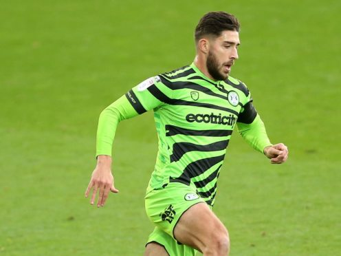 Forest Green Rovers defender Dan Sweeney is recovering from a knee problem (Nigel French/PA)