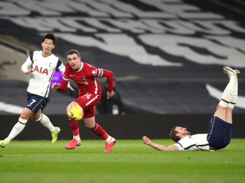 Harry Kane was injured against Liverpool (Nick Potts/PA)