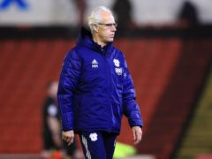 Mick McCarthy's Cardiff edged Rotherham away (Mike Egerton/PA)
