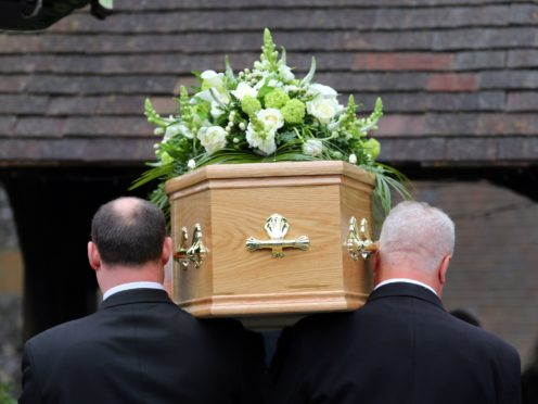 There are restrictions on the number of attendees at funerals amid the pandemic (PA)