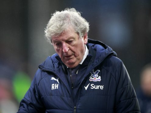 Roy Hodgson's own future at Crystal Palace beyond the end of the season is up in the air (Ian Walton/PA)