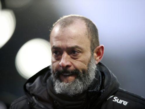 Nuno Espirito Santo has voiced concerns over next month's international fixtures (Ian Walton/PA)