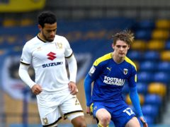 Jack Rudoni won it for AFC Wimbledon (Kirsty O'Connor/PA)