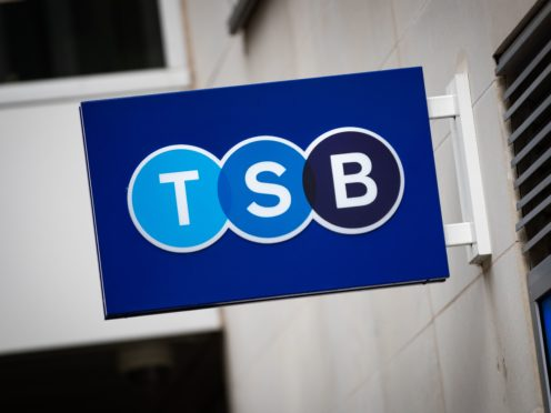 The boss of TSB Bank has seen her annual pay package drop by nearly a fifth while staff bonuses have nearly halved after the lender suffered steep losses.
