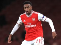 Arsenal's Joe Willock. will hope to make his Newcastle debut on Saturday having completed a loan move to St James' Park (Adam Davy/PA)