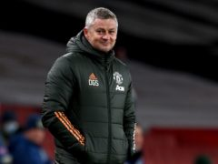Ole Gunnar Solskjaer watched his Manchester United side win 9-0 on Tuesday (Andy Rain/PA)