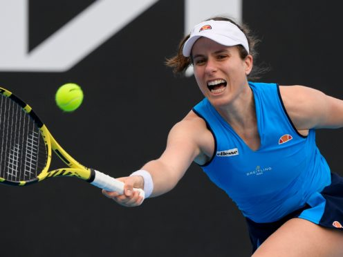 Johanna Konta leads the British hopefuls at the Australian Open (Andrew Brownbill/AP)