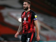Steve Cook is absent for Bournemouth with a thigh injury (Kieran Cleeves/PA)