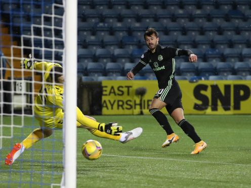 Celtic's Albian Ajeti is hoping to finish the season on a high (Jane Barlow/PA)
