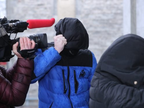 Patrick O'Brien arrives at Tralee District Court (Niall Carson/PA)