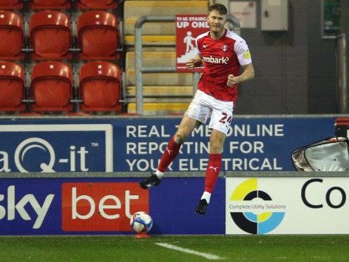 Michael Smith scored Rotherham's second (Nigel French/PA)