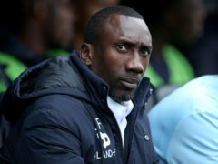 Jimmy Floyd Hasselbaink's side are bottom of League One (Steven Paston/PA)