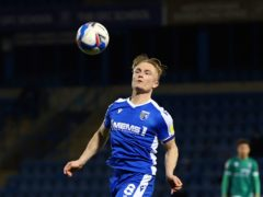 Gillingham's Kyle Dempsey (Gareth Fuller/PA)