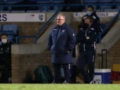 Gillingham manager Steve Evans was not impressed with the referee (Gareth Fuller/PA)