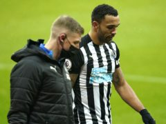 Newcastle striker Callum Wilson is facing eight weeks on the sidelines with a hamstring injury (Owen Humphreys/PA)