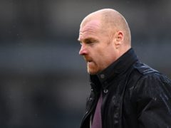 Sean Dyche has been left short of numbers due to injuries this season (Laurence Griffiths/PA)