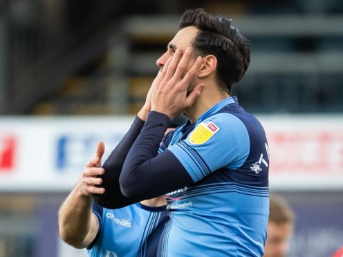 Wycombe defender Ryan Tafazolli was sent off against Reading (Aaron Chown/PA)