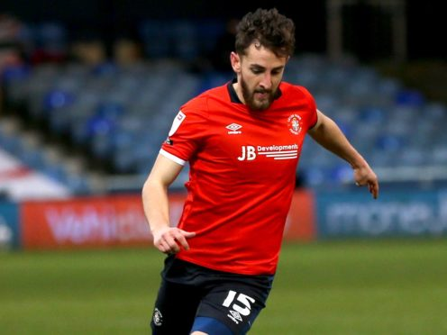Tom Lockyer has missed Luton's last two matches (Steven Paston/PA)