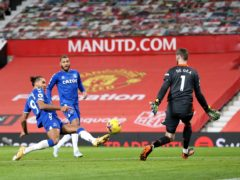 Dominic Calvert-Lewin snatched a late point for Everton at Manchester United (Alex Pantling/PA)