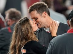 Gisele Bundchen congratulated husband Tom Brady on his historic Super Bowl victory (AP Photo/David J. Phillip)