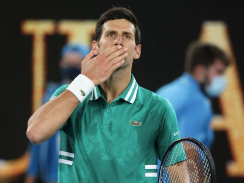 Novak Djokovic was in fine form as his Australian Open campaign started with a win (Hamish Blair/AP)